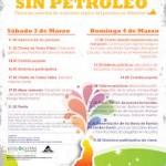 Cartel de las jornadas de Móstoles sin petróleo