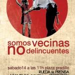 Rueda de prensa y asamblea sobre represión en Pradillo (sábado 14 de abril)