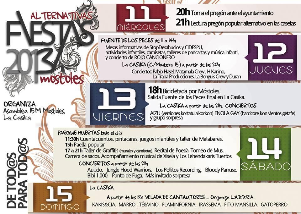 Fiestas Septiembre 2013